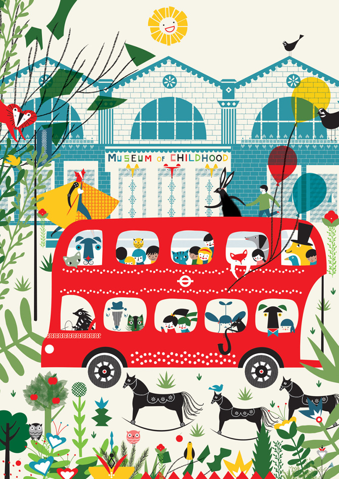 London places and spaces thereza rowe illustration for Spaces and places