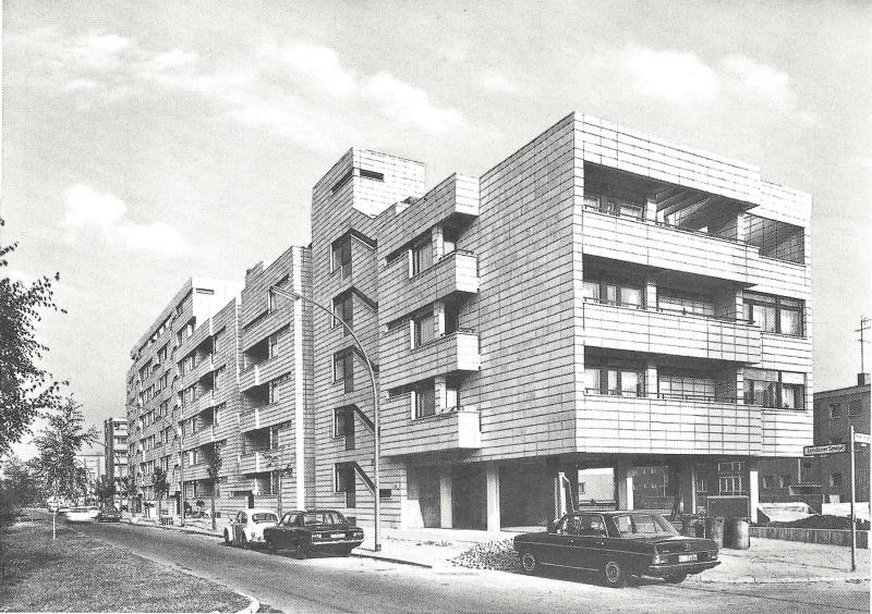 Wohnanlage londoner stra e mars architekten - Mars architekten ...