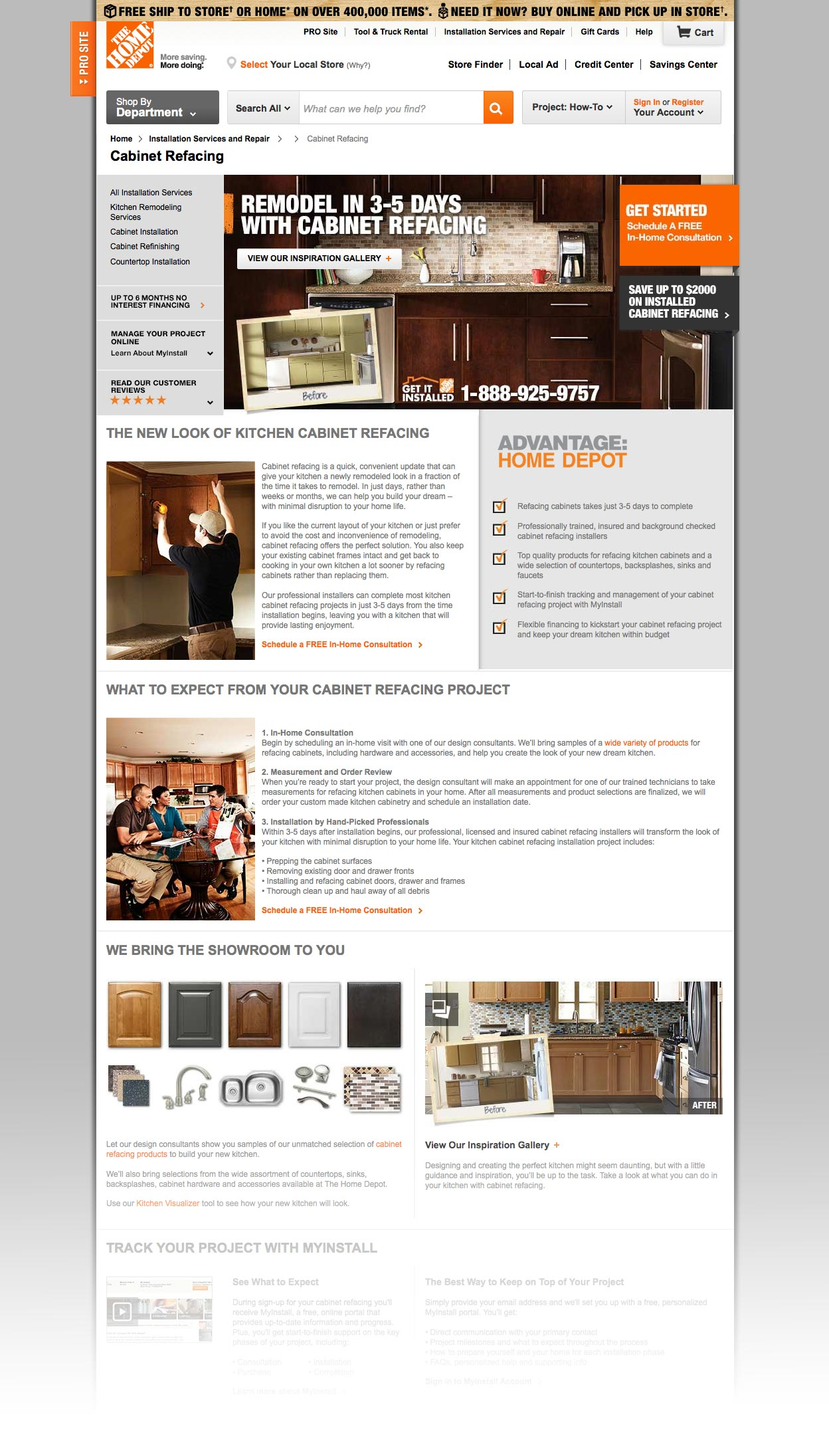thd home services matthew ryan andrews creative portfolio
